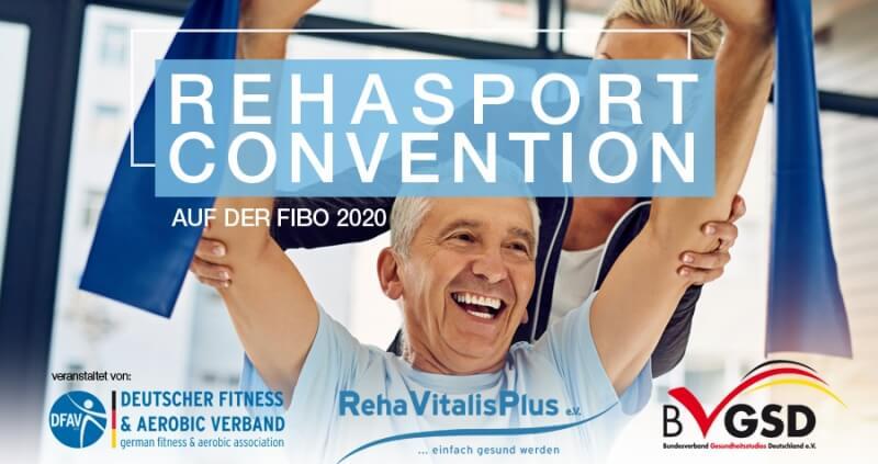 Rehasport Convention 2020 auf der Fibo