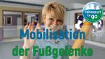 Mobilisation der Fußgelenke