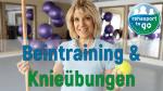 Beintraining & Knieübungen
