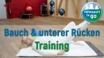 Bauch & unterer Rückentraining