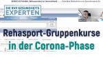 Rehasport-Gruppenkurse in Deutschland in der Corona-Phase